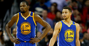 Kevin Durant Stephen Curry NBA Golden State Warriors